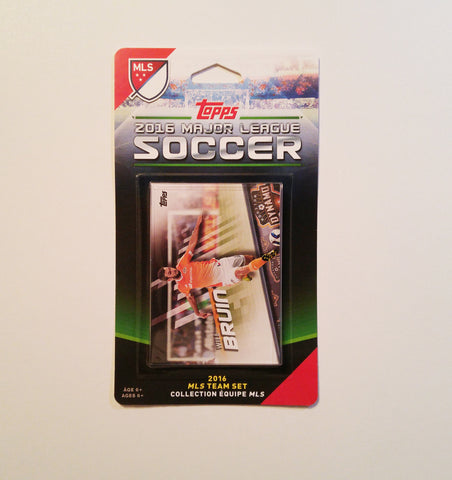 Houston Dynamo 2016 Topps Team Set