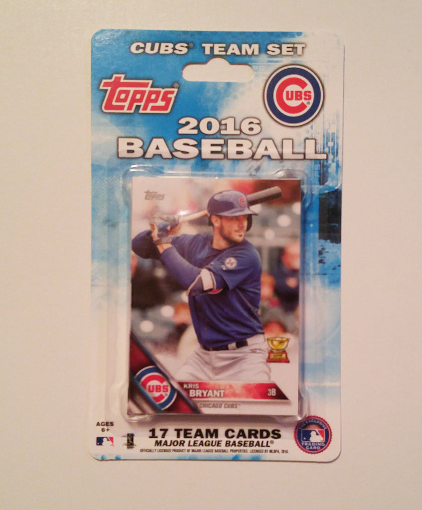 Chicago Cubs 2016 Topps Team Set