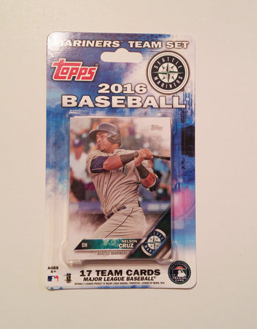 Seattle Mariners 2016 Topps Team Set