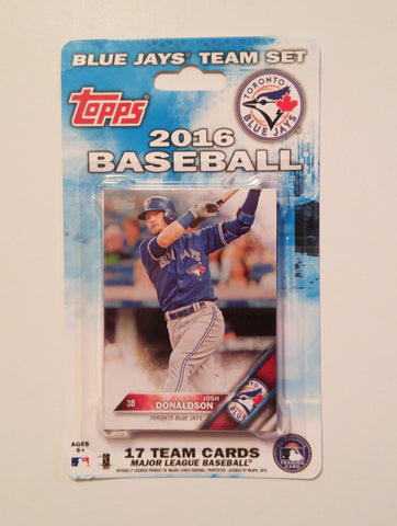 Toronto Blue Jays 2016 Topps Team Set