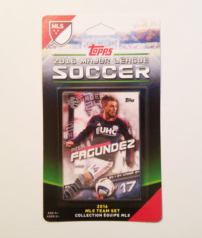 New England Revolution 2016 Topps Team Set