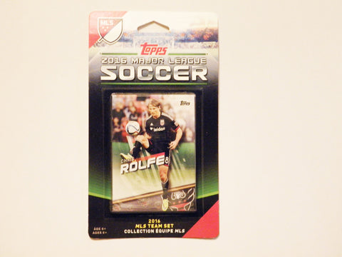 DC United 2016 Topps Team Set