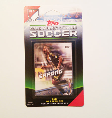 Philadelphia Union 2016 Topps Team Set