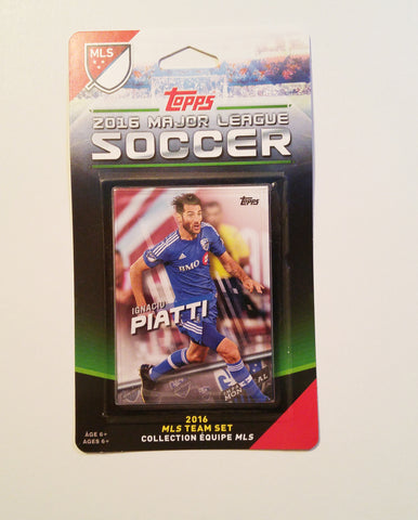Montreal Impact 2016 Topps Team Set