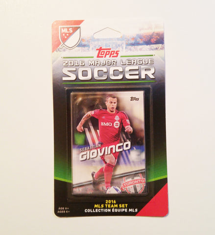 Toronto FC 2016 Topps Team Set