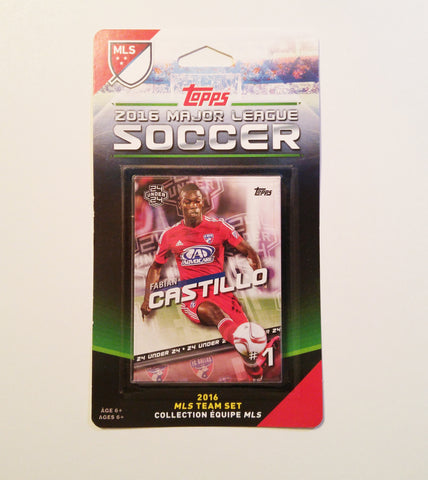 FC Dallas 2016 Topps Team Set
