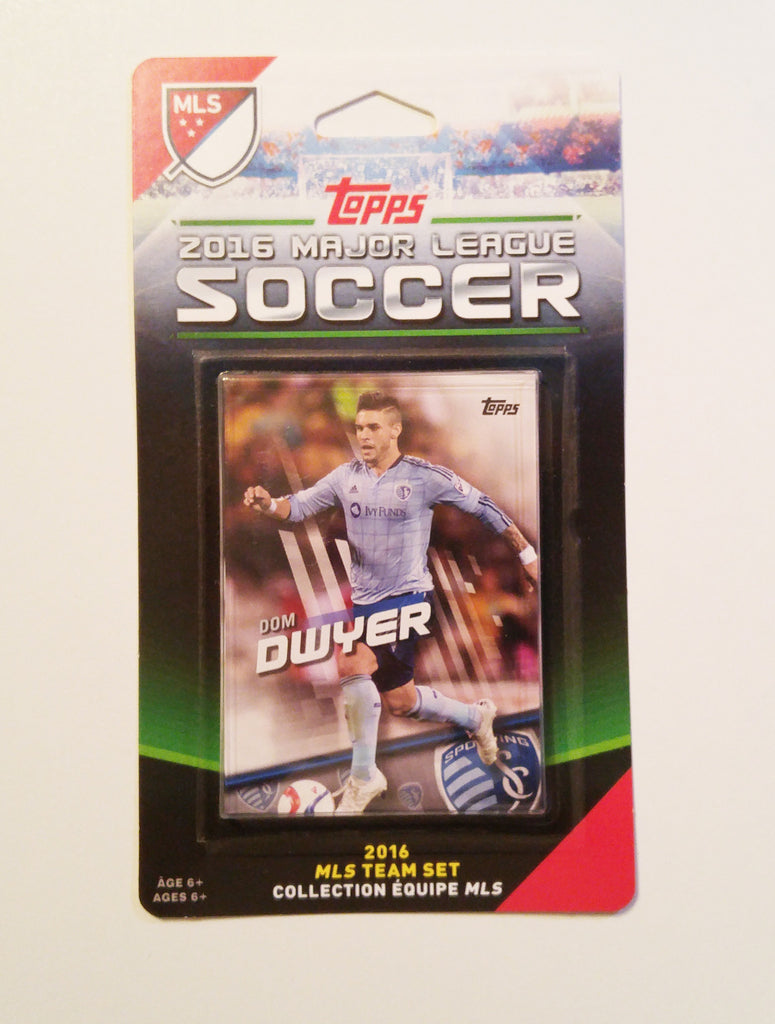 Sporting Kansas City 2016 Topps Team Set