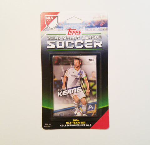 Los Angeles Galaxy 2016 Topps Team Set