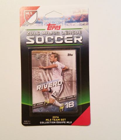 Vancouver Whitecaps FC 2016 Topps Team Set