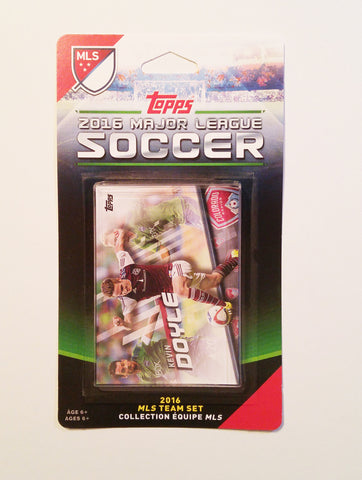 Colorado Rapids 2016 Topps Team Set