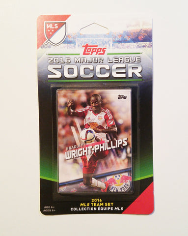 New York Red Bulls 2016 Topps Team Set