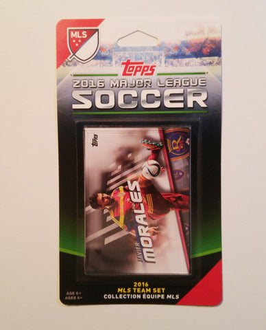 Real Salt Lake 2016 Topps Team Set