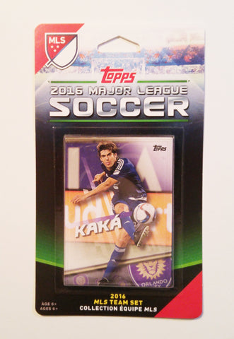 Orlando City SC 2016 Topps Team Set