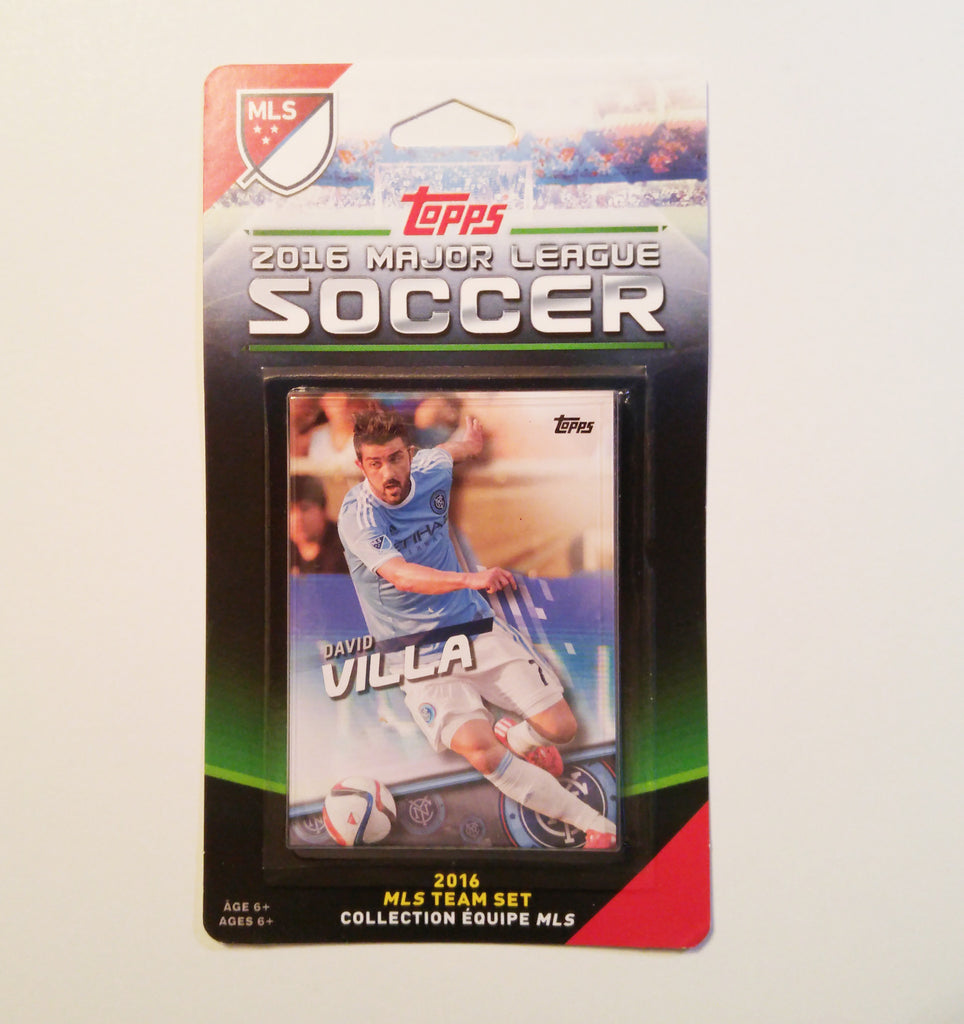New York City FC 2016 Topps Team Set