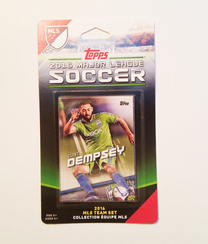 Seattle Sounders FC 2016 Topps Team Set