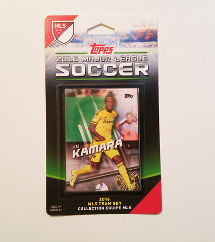 Columbus Crew SC 2016 Topps Team Set