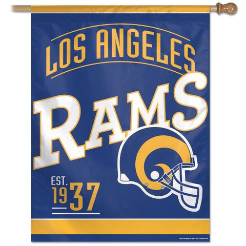 "Los Angeles Rams 27""x37"" Banner - Classic Logo"