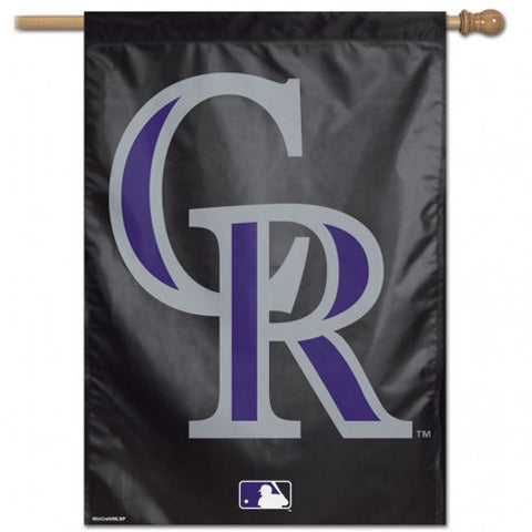 "Colorado Rockies 28"" x 40"" Vertical Flag"