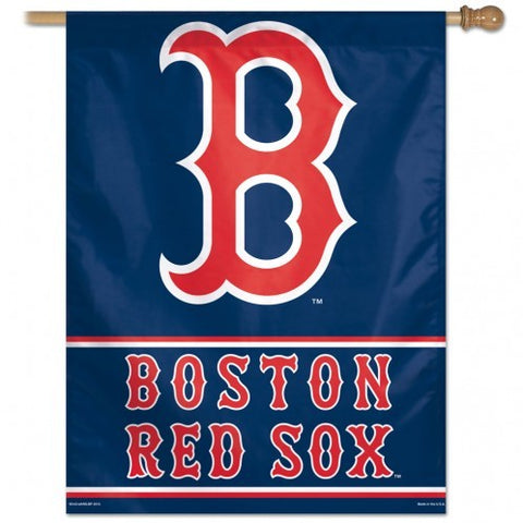 "Boston Red Sox 28"" x 40"" Vertical Flag - B Logo"