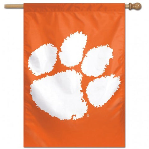 "Clemson Tigers 28"" x 40"" Vertical Flag"