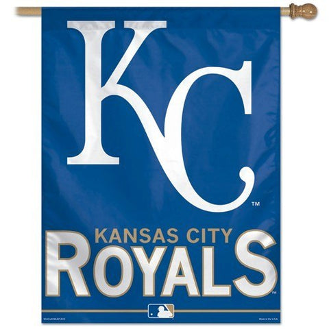 "Kansas City Royals 28"" x 40"" Vertical Flag"