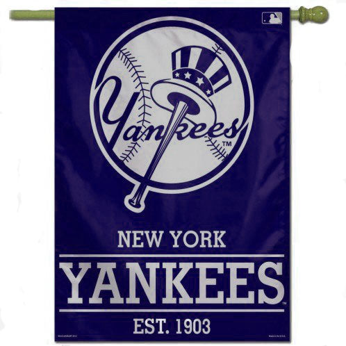 "New York Yankees 28"" x 40"" Vertical Flag"