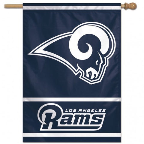"Los Angeles Rams 28"" x 40"" Vertical Flag"
