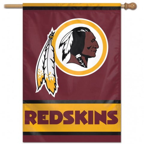"Washington Redskins 28"" x 40"" Vertical Flag"