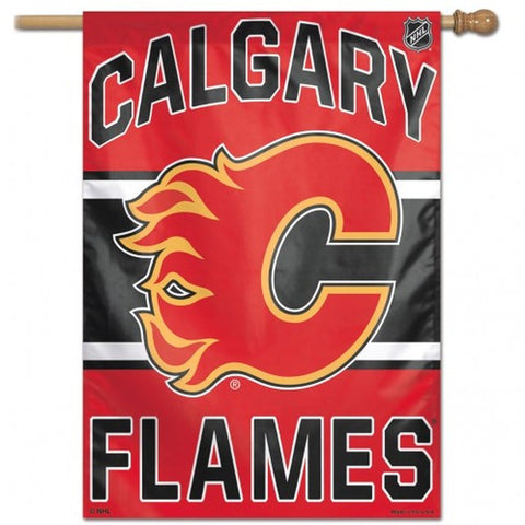 "Calgary Flames 28"" x 40"" Vertical Flag"