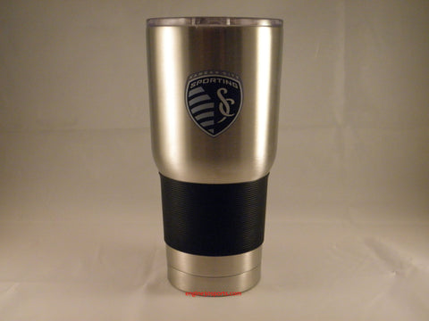 Sporting Kansas City 30oz Silver Ultra Travel Tumbler