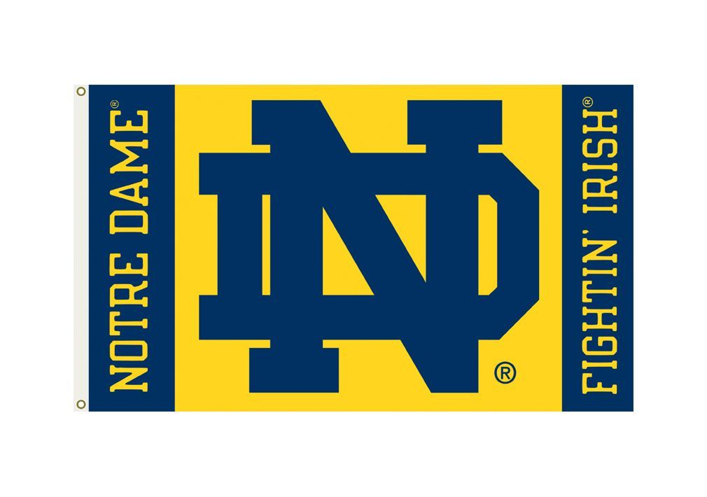 Notre Dame Fighting Irish 3'x5' Flag - ND Logo