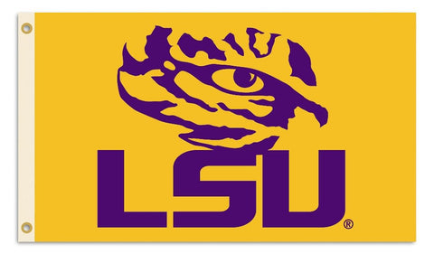 LSU Tigers 3'x5' Flag