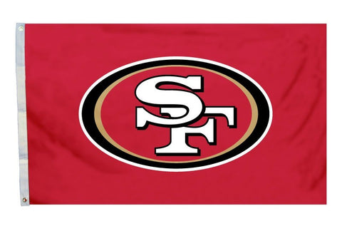 San Francisco 49ers 3'x5' Flag - Logo Design