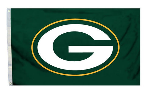 Green Bay Packers 3'x5' Flag - Logo Design