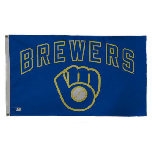 Milwaukee Brewers 3'x5' Flag