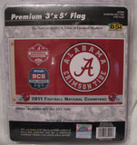 Alabama Crimson Tide 2011 National Champions 3'x5' Flag