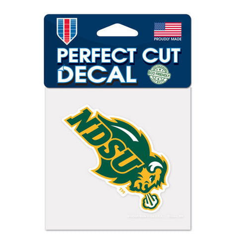 North Dakota State Bison Small Decal