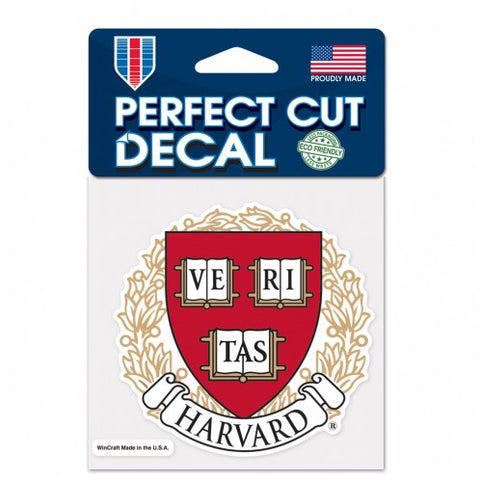 Harvard Crimson Small Decal