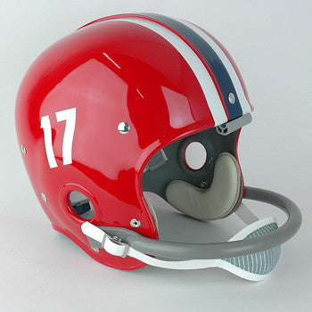 SMU Mustangs 1957-1961 Red Version Vintage Full Size Helmet