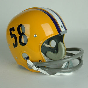 LSU Tigers 1958 National Champions Vintage Full Size Helmet