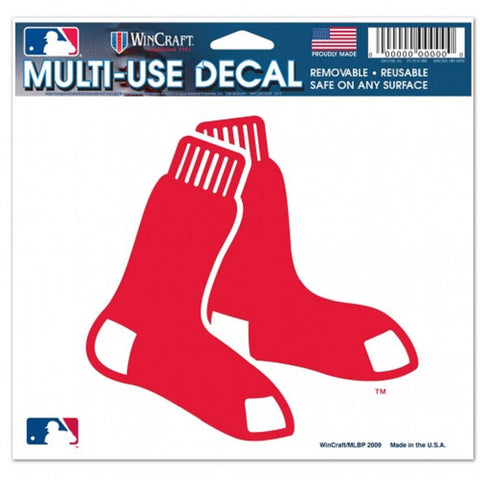 "Boston Red Sox 5""x6"" Decal - Sox Logo"