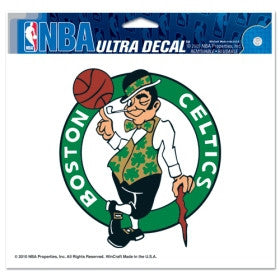 "Boston Celtics 5""x6"" Decal"