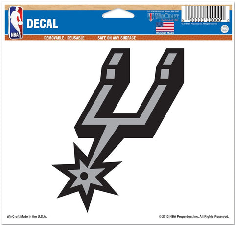 "San Antonio Spurs 5""x6"" Decal"