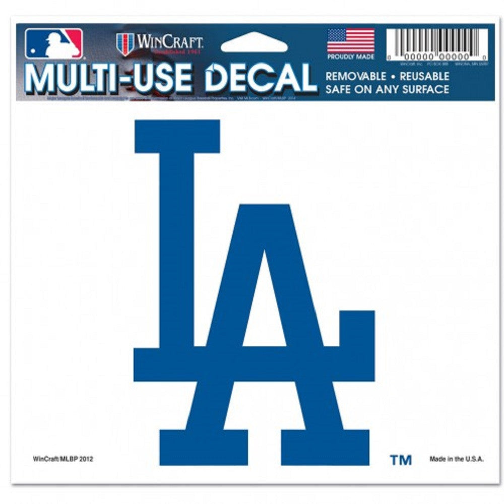 "Los Angeles Dodgers 5""x6"" Decal"
