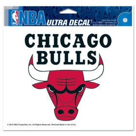 "Chicago Bulls 5""x6"" Decal"