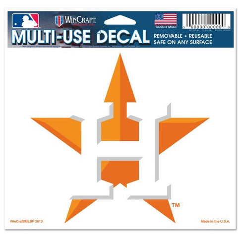"Houston Astros 5""x6"" Decal"