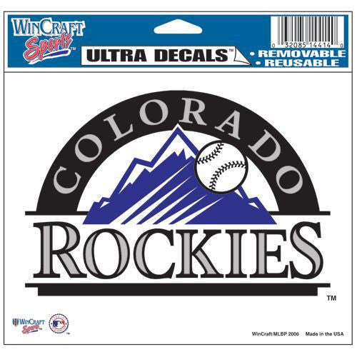 "Colorado Rockies 5""x6"" Decal"