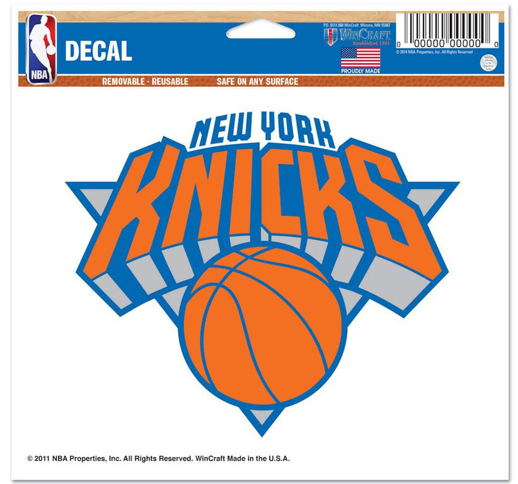 "New York Knicks 5""x6"" Decal"