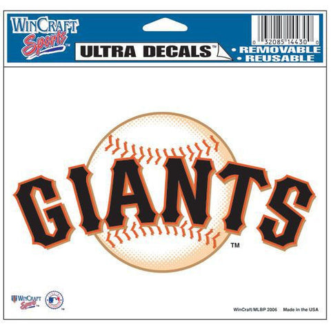 "San Francisco Giants 5""x6"" Decal"