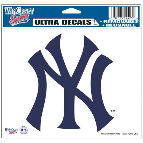 "New York Yankees 5""x6"" Decal"